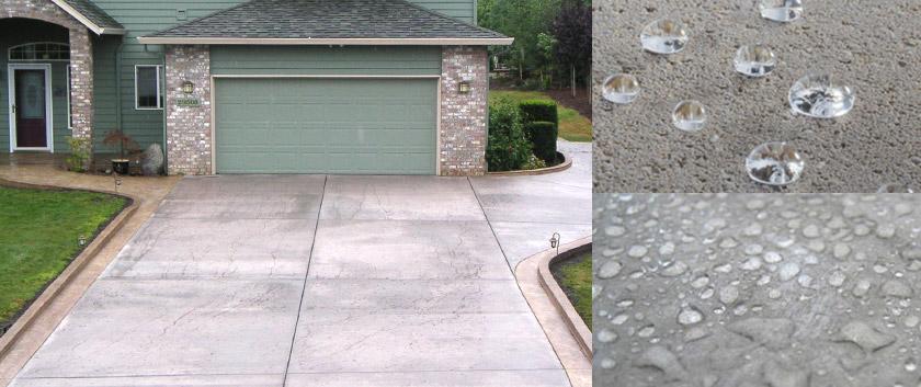 Beton sealer oplossingen waterdicht