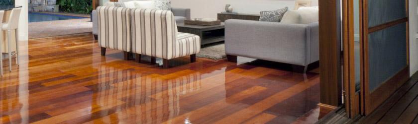 Hout sealer solution - teak vloer beschermen